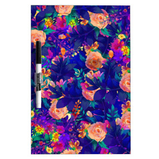 watercolor Botanical garden V Dry Erase Boards
