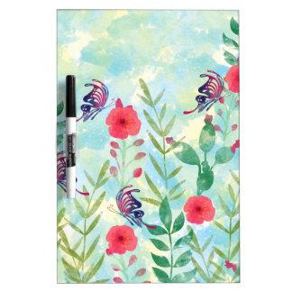 watercolor Botanical garden VI Dry Erase Whiteboards