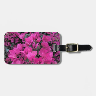 Watercolor-Bougainvillea Luggage Tag