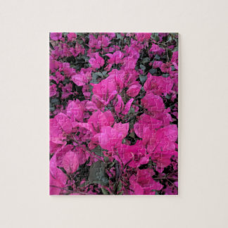 Watercolor-Bougainvillea Puzzle