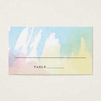 Watercolor Bouquet Wedding Escort Place Cards
