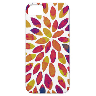 Watercolor brush strokes - multicolor iPhone 5 cases