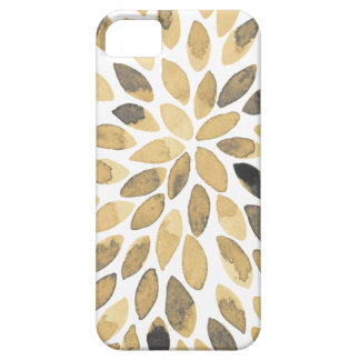 Watercolor brush strokes - neutral iPhone 5 case