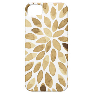 Watercolor brush strokes - neutral iPhone 5 covers