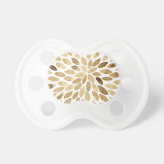 Watercolor brush strokes - neutral pacifier