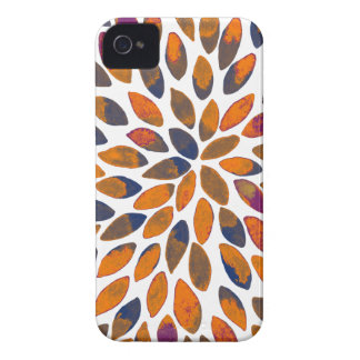 Watercolor brush strokes - rusty effect Case-Mate iPhone 4 case