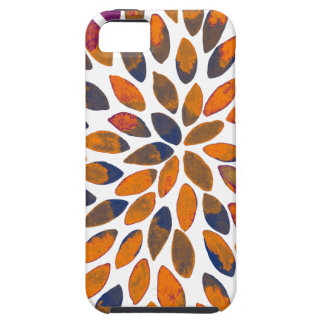 Watercolor brush strokes - rusty effect iPhone 5 case