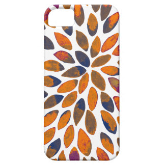 Watercolor brush strokes - rusty effect iPhone 5 covers