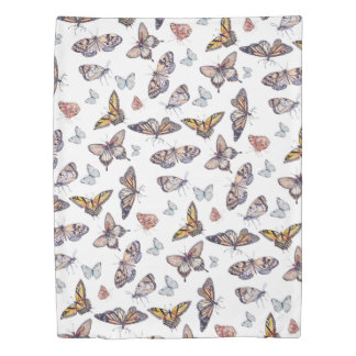 Watercolor Butterflies Insect Butterfly Duvet Cover