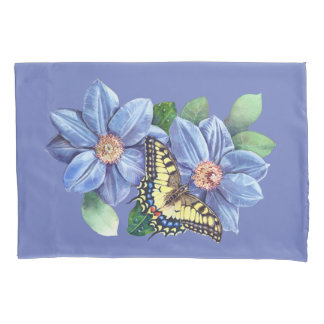 Watercolor Butterfly (1 side) Pillowcase