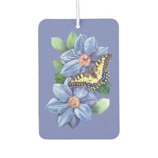Watercolor Butterfly Car Air Freshener
