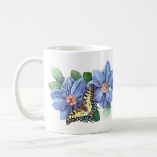 Watercolor Butterfly Classic Mug