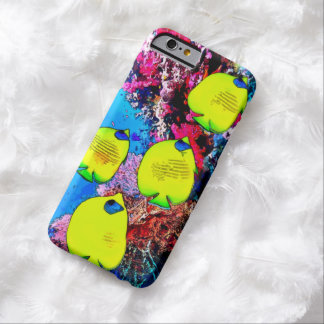 Watercolor Butterfly Fish iPhone 6 Case Barely There iPhone 6 Case