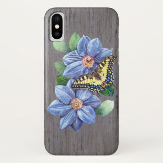 Watercolor Butterfly iPhone X Case