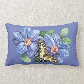 Watercolor Butterfly Lumbar Pillow