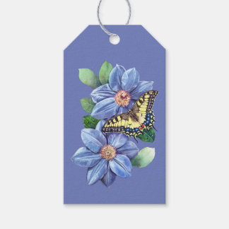 Watercolor Butterfly Pack Of Gift Tags