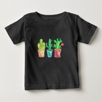 Watercolor Cactus Baby T-Shirt