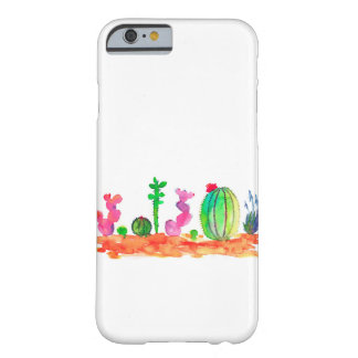 watercolor cactuses case