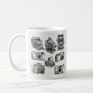 watercolor camera 6 coffee mug