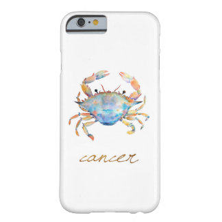 Watercolor Cancer Crab Barely There iPhone 6 Case