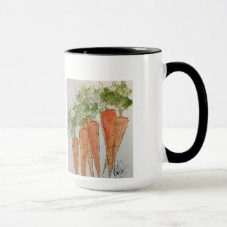 Watercolor Carrot Mug