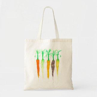 Watercolor Carrots Tote Bag