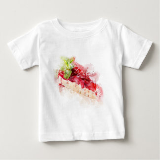 Watercolor cheesecake baby T-Shirt