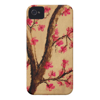 Watercolor Cherryblossom iPhone 4 Cover