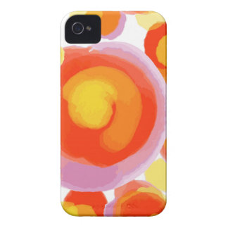 Watercolor circles Case-Mate iPhone 4 cases