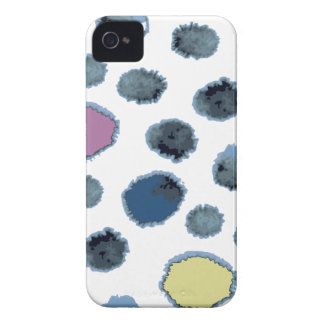 Watercolor circles iPhone 4 cover