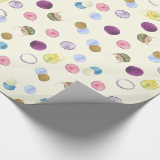 Watercolor Circles Wrapping Paper