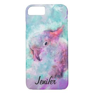 Watercolor cockatoo iPhone 8/7 case