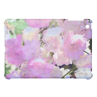 Watercolor Collage of Pink Roses  iPad Mini Cases