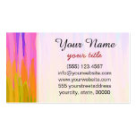 Watercolor Colored Abstract Background #2 Business Card