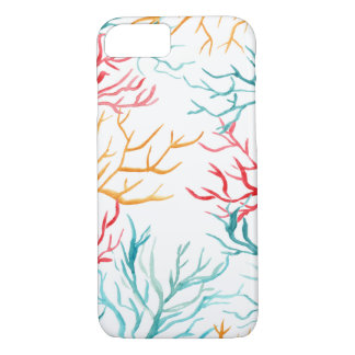 Watercolor Coral Reef Branches iPhone 7 Case