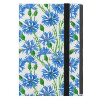 Watercolor cornflower pattern case for iPad mini