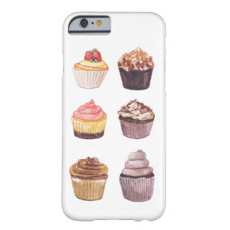 Watercolor Cupcakes Phone Case