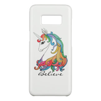 Watercolor cute rainbow unicorn Case-Mate samsung galaxy s8 case