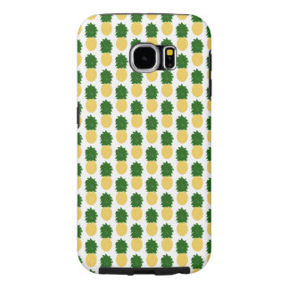 Watercolor Digital Pineapple Design Samsung Galaxy S6 Cases