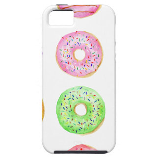 Watercolor donuts pattern iPhone 5 cover