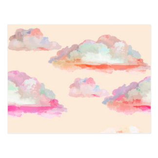 Watercolor Dreams Postcard