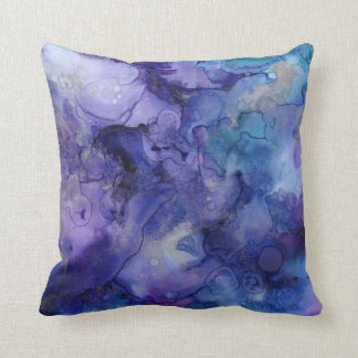"""WATERCOLOR DREAMS"" THROW PILLOW"