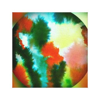 Watercolor Dropplet Canvas Print