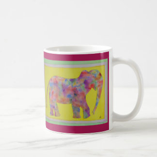 Watercolor Elephant Coffee Mug