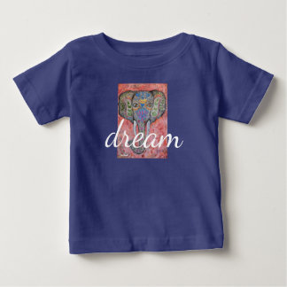 Watercolor Elephant Dream Infant T-Shirt