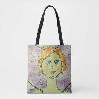 Watercolor Fairy Tote Bag
