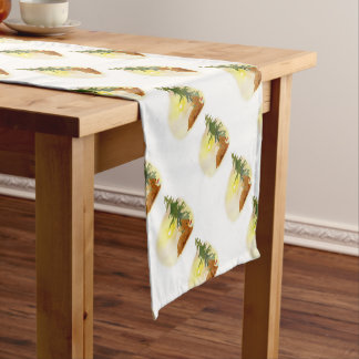 Watercolor Fawn Short Table Runner