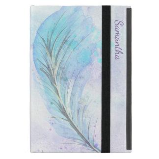 Watercolor Feather iPad Mini Case