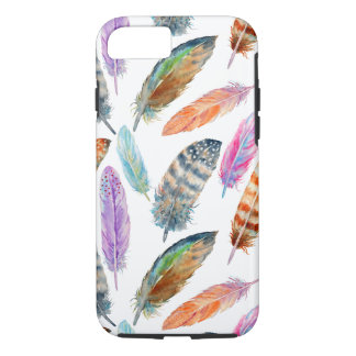 Watercolor Feathers iPhone 8/7 Case