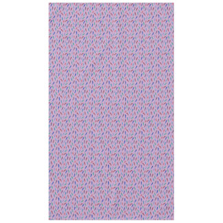 Watercolor Feathers Tablecloth 60'' x 104''